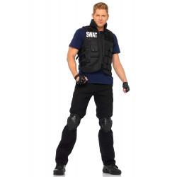 Fantasia SWAT Adulto Luxo