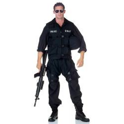 Fantasia SWAT Luxo Adulto