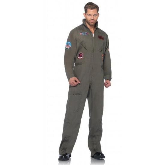 Fantasia Top Gun Piloto da Força Aérea Americana Adulto