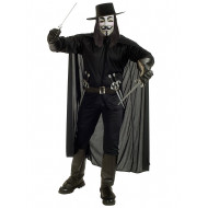 Fantasia V de Vingança Vendetta Adulto Clássico