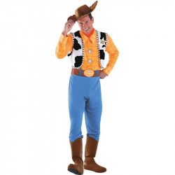 Fantasia Woody Toy Story Adulto Luxo