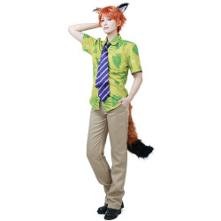 Fantasia Zootopia Nick Wilde Disney Adulto