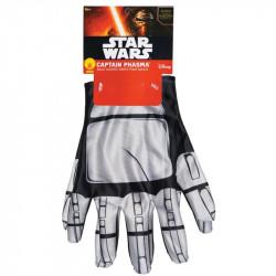 Luvas Phasma Star Wars Luxo Adulto Despertar da Força