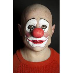 Máscara de Silicone Realista Palhaço Palha Luxo