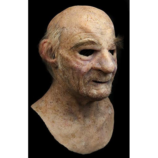 Máscara de Silicone Realista Velho Dalto Luxo