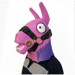 Máscara Fortnite Unicórnio Arco Iris Clássica