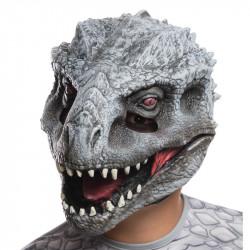Máscara Jurassic Park O Mundo dos Dinossauros Indomirus TRex Infantil