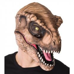 Máscara Jurassic Park O Mundo dos Dinossauros TRex Adulto