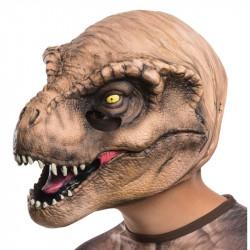 Máscara Jurassic Park O Mundo dos Dinossauros TRex Infantil