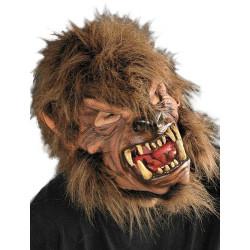 Máscara Lobo Lobisomem Luxo Adulto