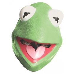 Máscara Muppets Vila Sésamo Caco Kermit Adulto