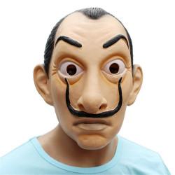 Máscara Salvador Dalí La Casa De Papel Látex Luxo