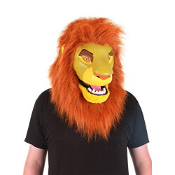 Máscara Simba Rei Leão Adulto