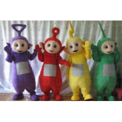 Mascote Teletubbies Adulto