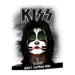 Peruca Kiss Catman Luxo Adulto