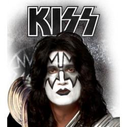 Peruca Kiss Spaceman Luxo Adulto
