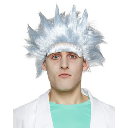 Peruca Rick & Morty Rick Adulto Clássico