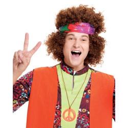 Peruca Unisex Hippie anos 70