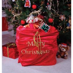 Saco do Papai Noel Natal Veludo