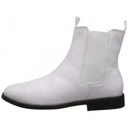 Sapato Bota Branca