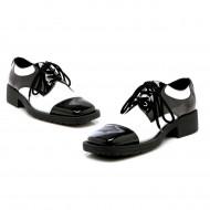 Sapato Preto e Branco Luxo