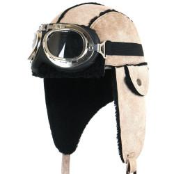 Touca e Óculos Aviador Luxo