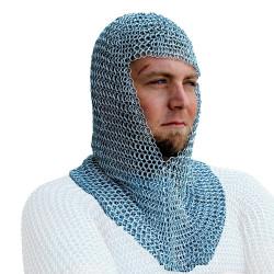 Touca de Metal para Cavaleiro Medieval