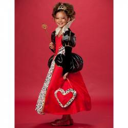 Bolsa Coração Rainha de Copas Infantil Luxo