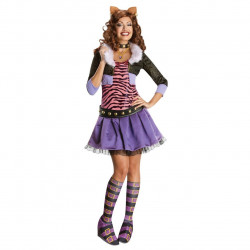 Fantasia Adulto Monster High Clawdeen Wolf