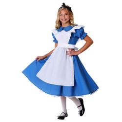 Fantasia Alice no País das Maravilhas Infantil Clássico