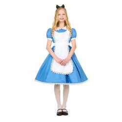 Fantasia Alice no País das Maravilhas Infantil Luxo