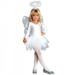 Fantasia Anjo Clássica Infantil Luxo