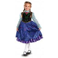Fantasia Anna Frozen Uma Aventura Congelante Infantil