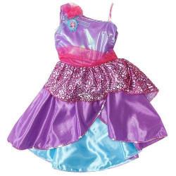 Fantasia Barbie Princesa Popstar Lilas