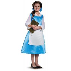 Fantasia Bela Vestido Azul Bela e a Fera Infantil