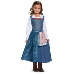 Fantasia Bela Vestido azul Bela e a Fera Infantil Luxo