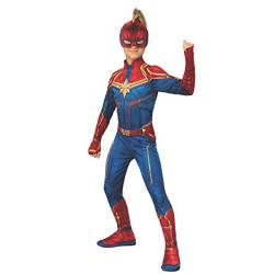 Fantasia Capitã Marvel infantil Luxo
