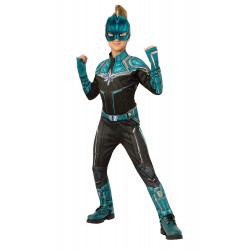 Fantasia Capitã Marvel Kree infantil Luxo