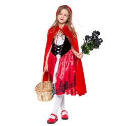 Fantasia Chapeuzinho Vermelho Adorável Infantil