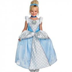 Fantasia Cinderela Infantil Luxo