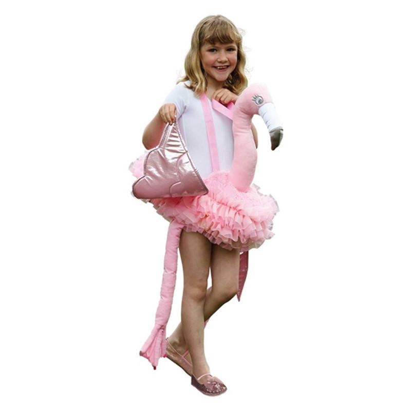 Fantasia De Montar Flamingo Infantil