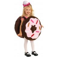 Fantasia Doce Doughnut Infantil Luxo
