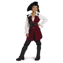 Fantasia Elizabeth Piratas do Caribe Infantil