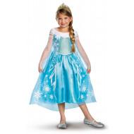 Fantasia Elsa Frozen Uma Aventura Congelante Infantil