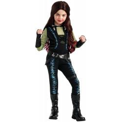 Fantasia Gamora Guardiões da Galáxia 2 Infantil