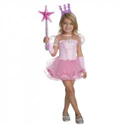 Fantasia Glinda Mágico de Oz Infantil Luxo
