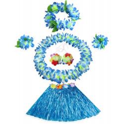 Fantasia Havaiana Clássico Azul Infantil