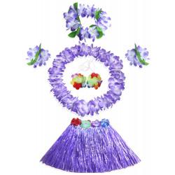 Fantasia Havaiana Clássico lilás Infantil