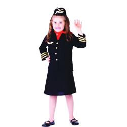 Fantasia Infantil Aeromoça