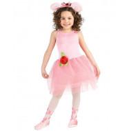 Fantasia Infantil Angelina Bailarina Luxo